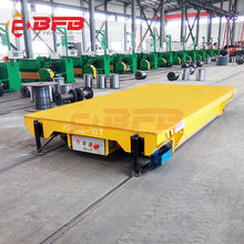 Ship parts transfer 160tons electric pallet rail truck for sale