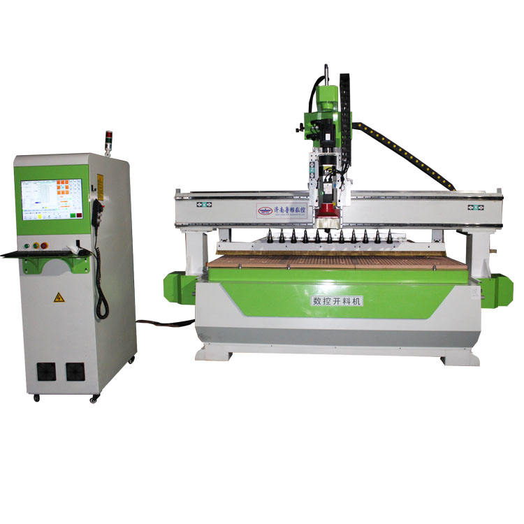 Woodworking 2030 CNC router 2040 wood machine ATC CNC router 1325 with linear tool bank
