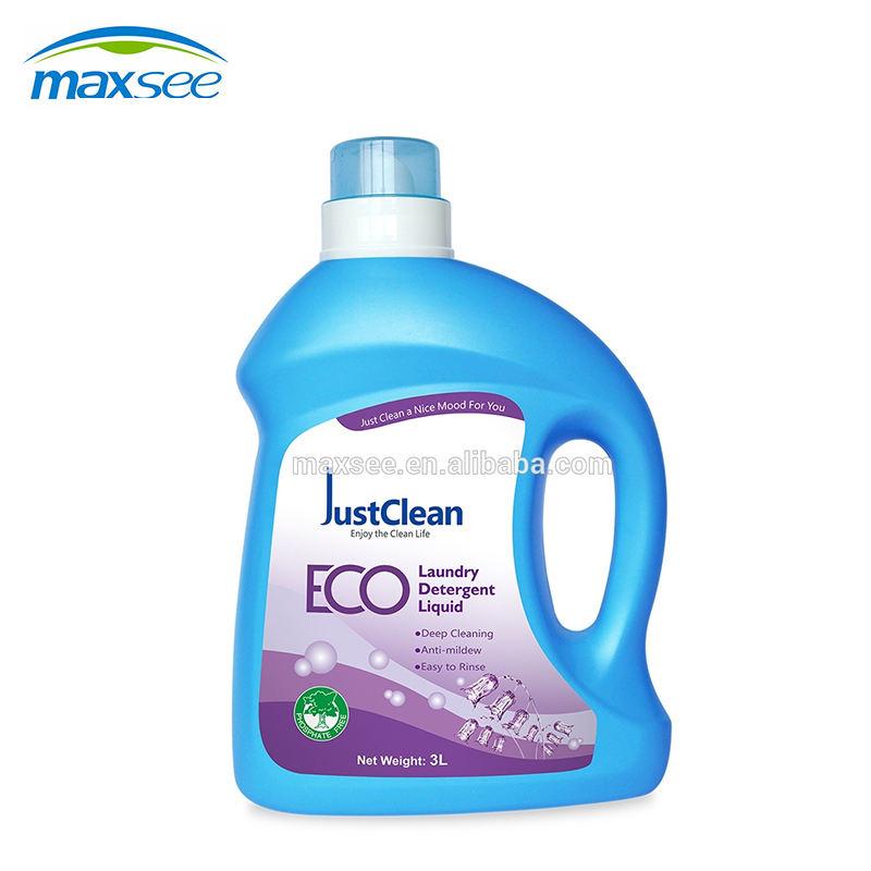 1L OEM fabbrica ipoallergenico biologico decontaminazione macchina naturale lavaggio comodo detersivo liquido detersivo in polve