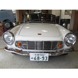 Old White Color Classic Cabriolet Used Japan Open Car