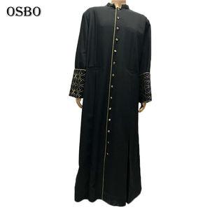 Wholesale Custom Priest Gown Uniform Black Church Church Choir Robes