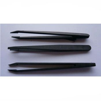 Make-up Tools Anti-static Plastic Eyelash Eyebrow Tweezers
