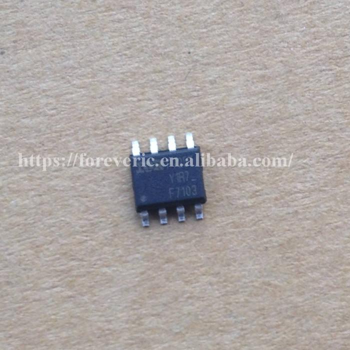 5 x IRF7103 Transistor 2-fach N-MOSFET 50V 3A 2W SO8
