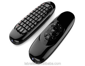 C120 Onida Universale TV Telecomando con Mini Wireless Air Mouse Tastiera Supporto Tutte Le Finestre Android Mac Linux