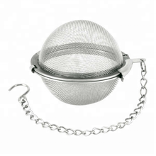304 Stainless steel metal tea infuser with drip tray and scoop