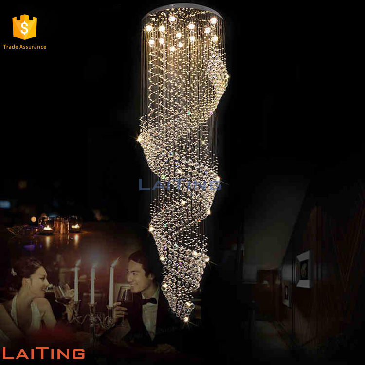 5 Twists Modern Luxury Lighting from Manufacturer of Crystal chandelier 91008