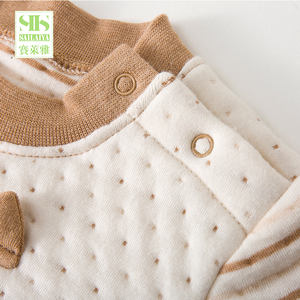 3 Months to 3 Years old Unisex Winter Babies Wear 2Pieces Baby Cotton Padded Clothes baby clothing sets organic cotton