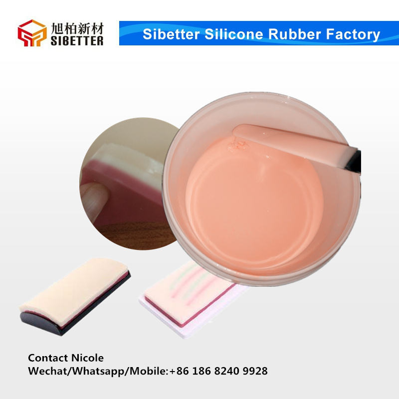 100% Medical Grade Silicone for Training Suture Pad Making