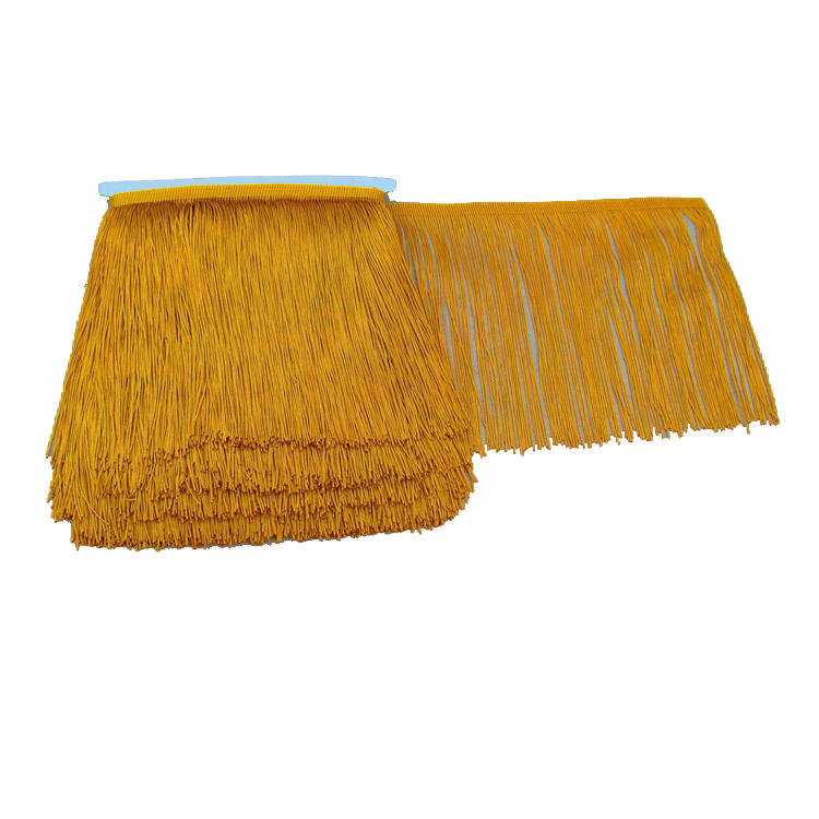 NO MOQ Handmade Carpet Fringe For Decoration