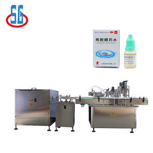 SGGXS automatic DYJ 2-30ml eye drops filling and capping machine