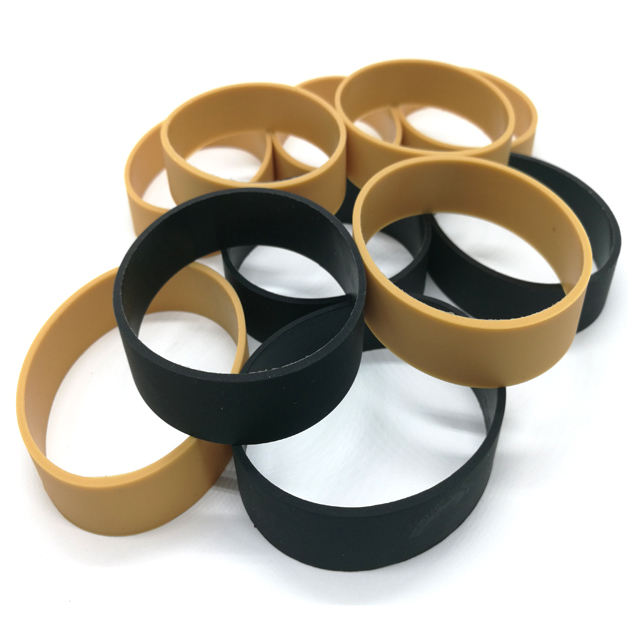Wholesale unbreakable elastic silicone rubber band for household electrical