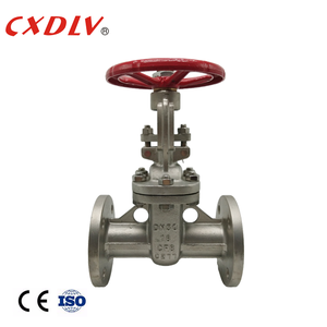 top quality manual operation metal sealed cast steel wcb 6 inch gate valve with handle
