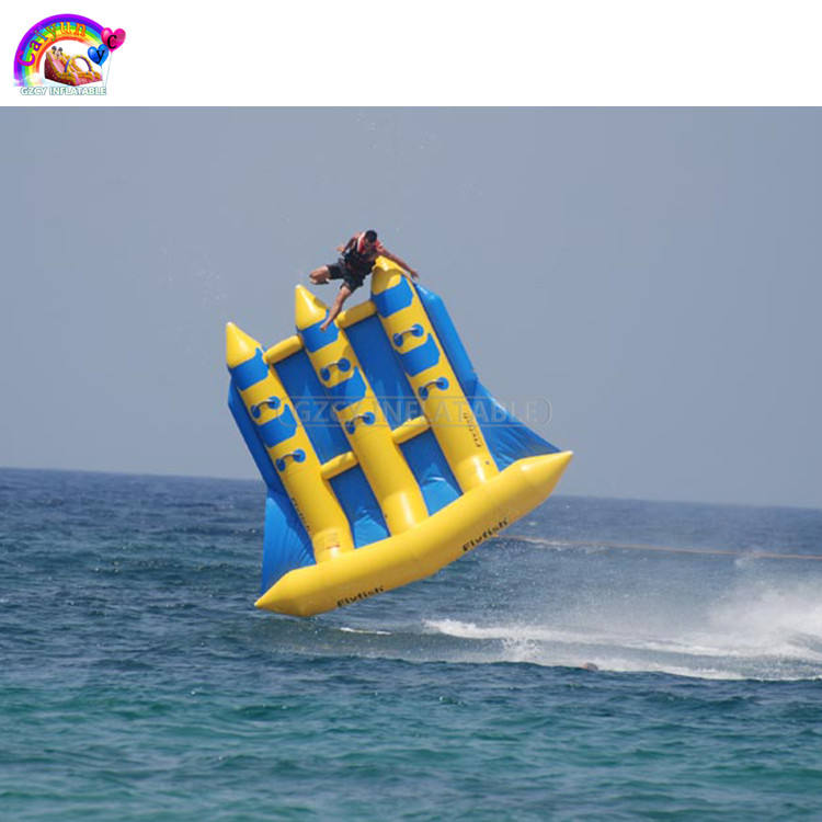 Inflatable फ्लाइंग फिश नाव/फ्लाई मछली <span class=keywords><strong>पानी</strong></span> <span class=keywords><strong>के</strong></span> <span class=keywords><strong>खेल</strong></span>/inflatable फ्लाइंग फिश
