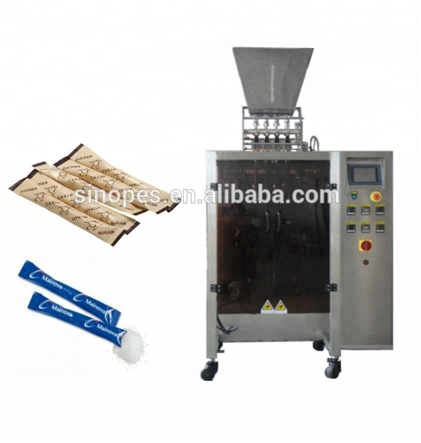 Automatic Multi-lanesVertical Grain packing machine, automatic sugar sachet packing machine, nescafe 3 in 1 instant coffee