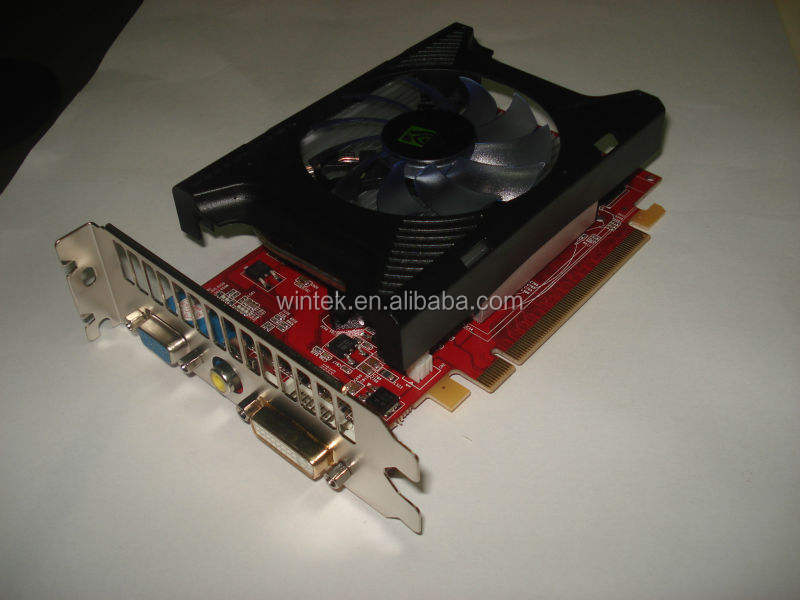 NVIDIA Geforce 8400GS 256MB 64bit PCI EXPRESS Low Profile Graphic card with S video output
