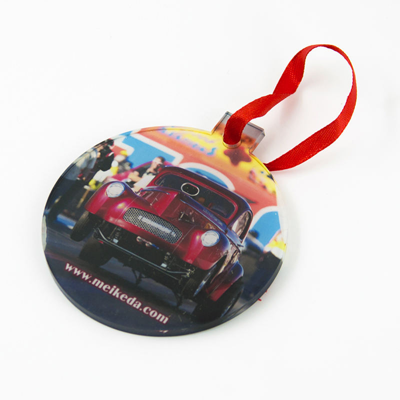 Promotional Customized Gift Souvenir Sublimation Acrylic Christmas Ornaments Style 7