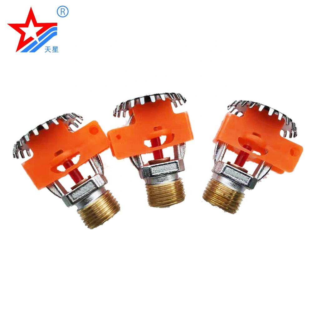 Glass bulb standard or quick response fire sprinkler heads for globe market