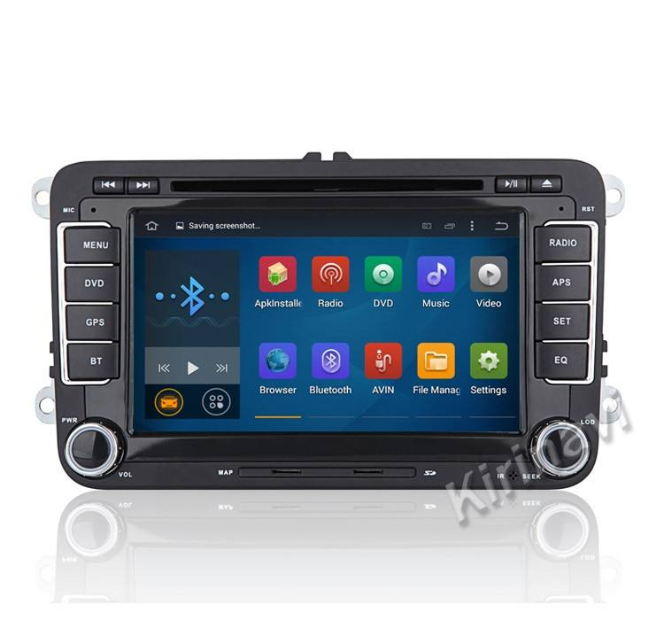 "Kirinavi WC-VU7008 7"" Android 5.1 car for volkswagen passat b5 car radio tv dvd system wifi 3g bt playstore car stereo"