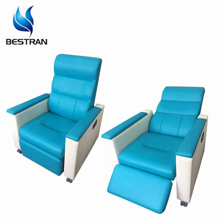 BT-TN008 Patient iv treatment injection reclining hospital chairs medical transfusion chair prices