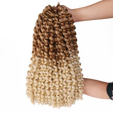 Wand Curl Crochet Hair Twist Crochet Braid Synthetic Braiding Hair