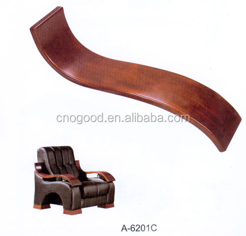 wooden armrest for office chair, wooden aremrest