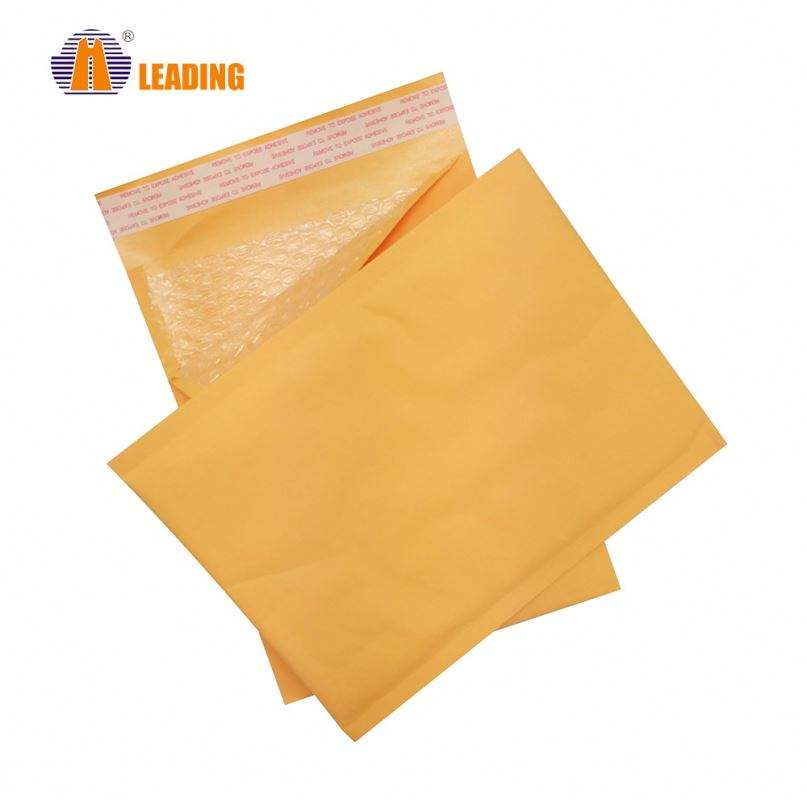 Wholesale Padded Kraft Postage Paper Shipping Mailing Bubble Mailer Bag Envelope