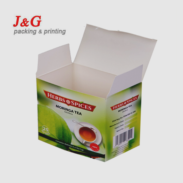 No Risk Purchasing custom made cardboard tea box paper packaging for tea