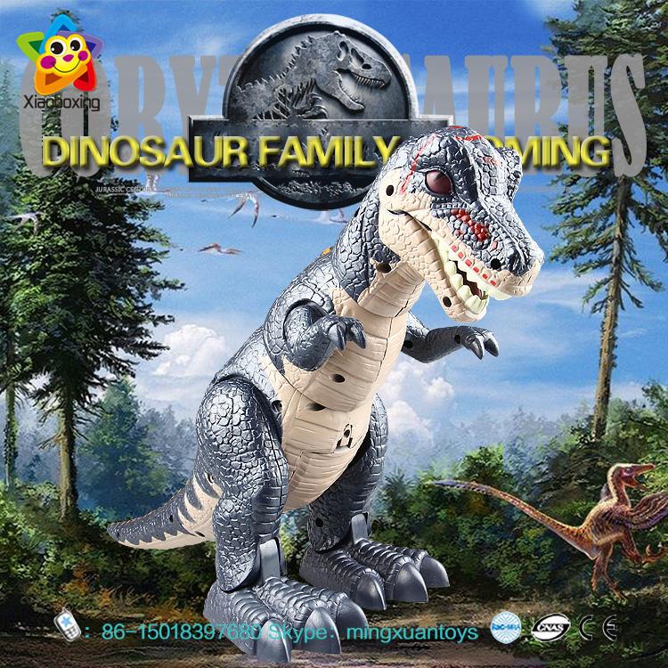 Kreidezeit Dinosaurier Welt Spielzeug Storm Wang Mit Licht und Sound