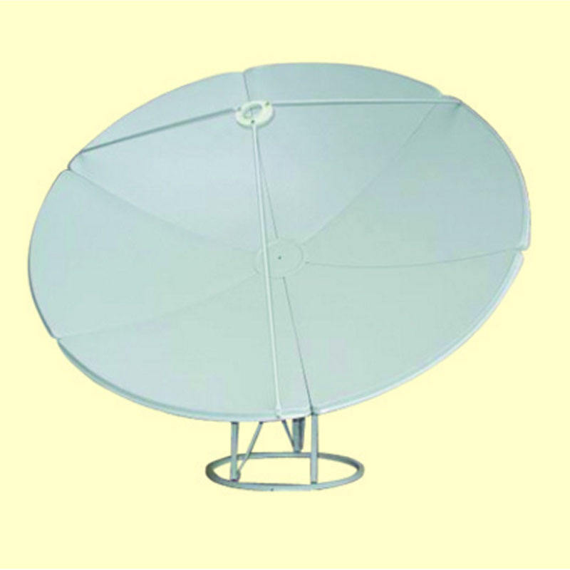 6.9 FT 210CM Prime FOCUS SOLID METAL C/ KU BAND SATELLITE DISH ANTENNA 2.1 Meter