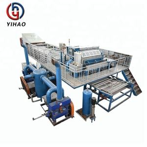 YIHAO full automatic recycled paper 3000p/h egg tray production line
