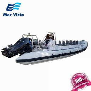 Hypalon yate fibra 7 Metro 7 m fabricante inflable costilla 700 barco