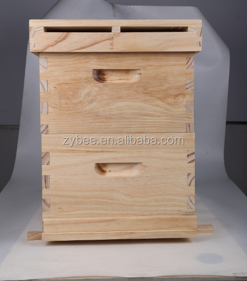 Good Quality variety of styles wood double deck beehive