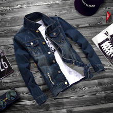 best selling new design button-front closure wholesale denim jacket men fashion custom jean men jacket 2017