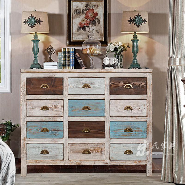 wholesale Classic european design 12 drawers wooden filing cabinet/living room filing cabinets