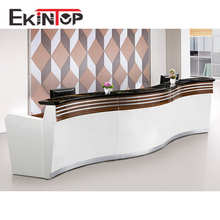 Ekintop Modern Office Reception Counter Design For Hotel