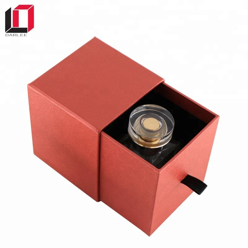 wholesale custom square luxury packaging box for leather perfume bottles