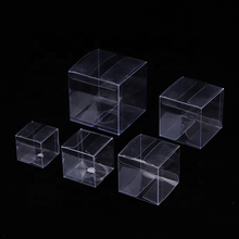 Hard Transparent Waterproof Clear Square PVC PET Plastic Boxes