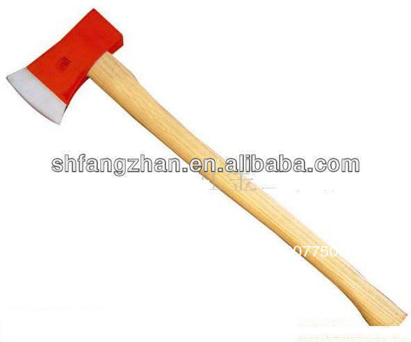 Longue longue hache tenue dans la main tenue dans la main de <span class=keywords><strong>pompier</strong></span>