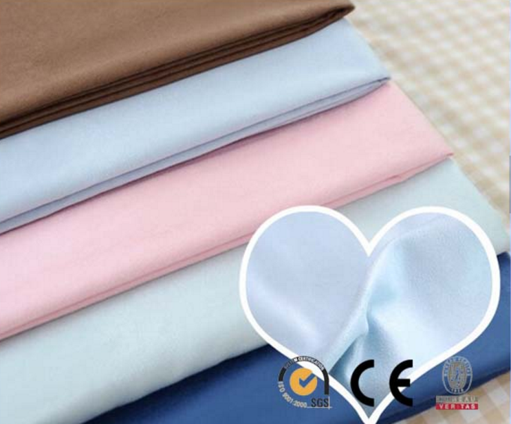 hot sale faux microfiber suede fabric/poly suede fabric for garments & home textile