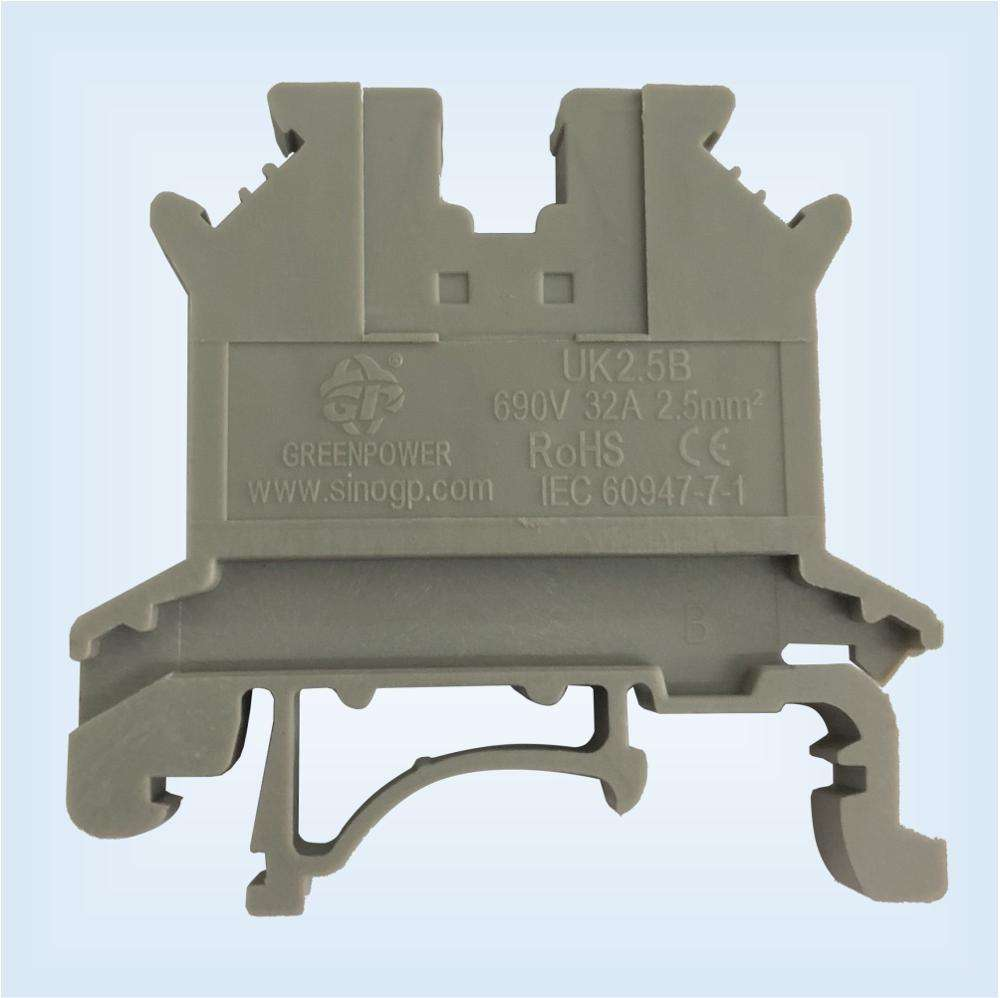 UK2.5B UKJ-2.5 Wire Terminal Block DIN Terminals