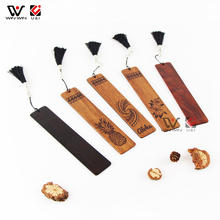 Blank Wood Turning Woodworking Wedding DIY Vintage Craft Luxury Wooden Bookmarks