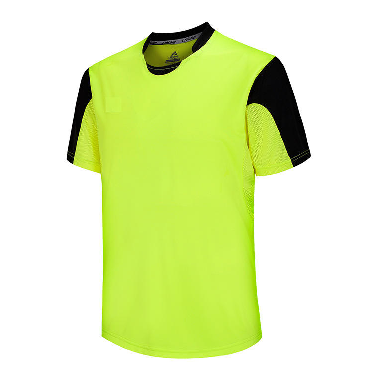 Polyester football jersey comfortable breathable soccer set good quality uniform football kit