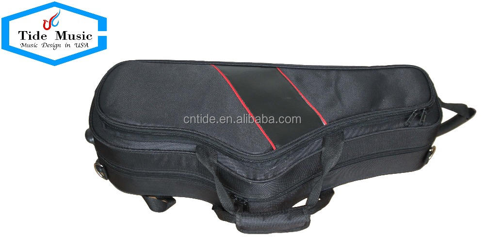 good quality Alto saxophone shaped case