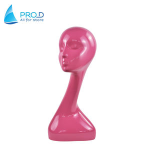Wholesale Modern Factory Price Display Mannequin Pink Mannequin Heads For Sale