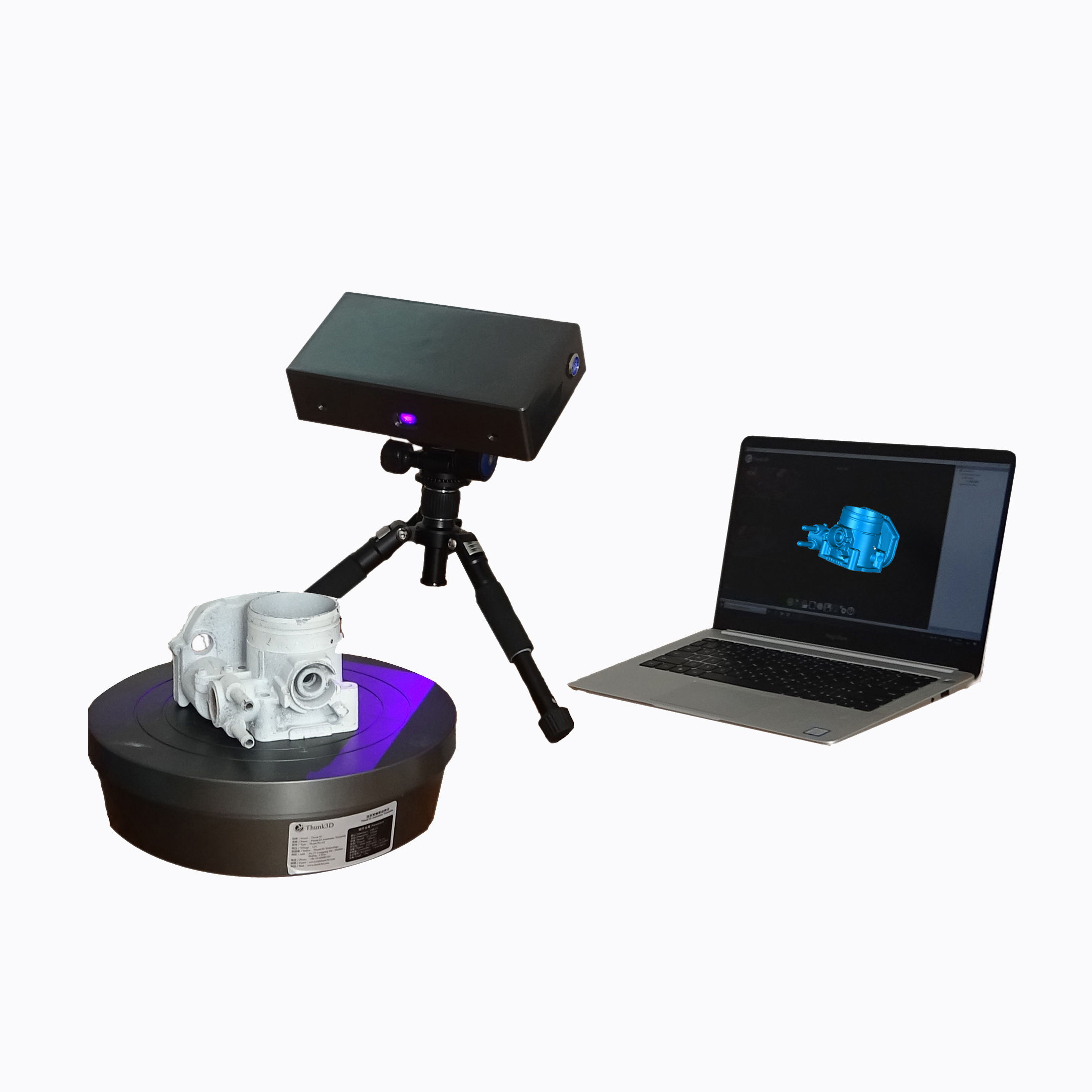 Industrial 3D Scanner High Accuracy 0.03mm Low Price Factory 3D Scanner