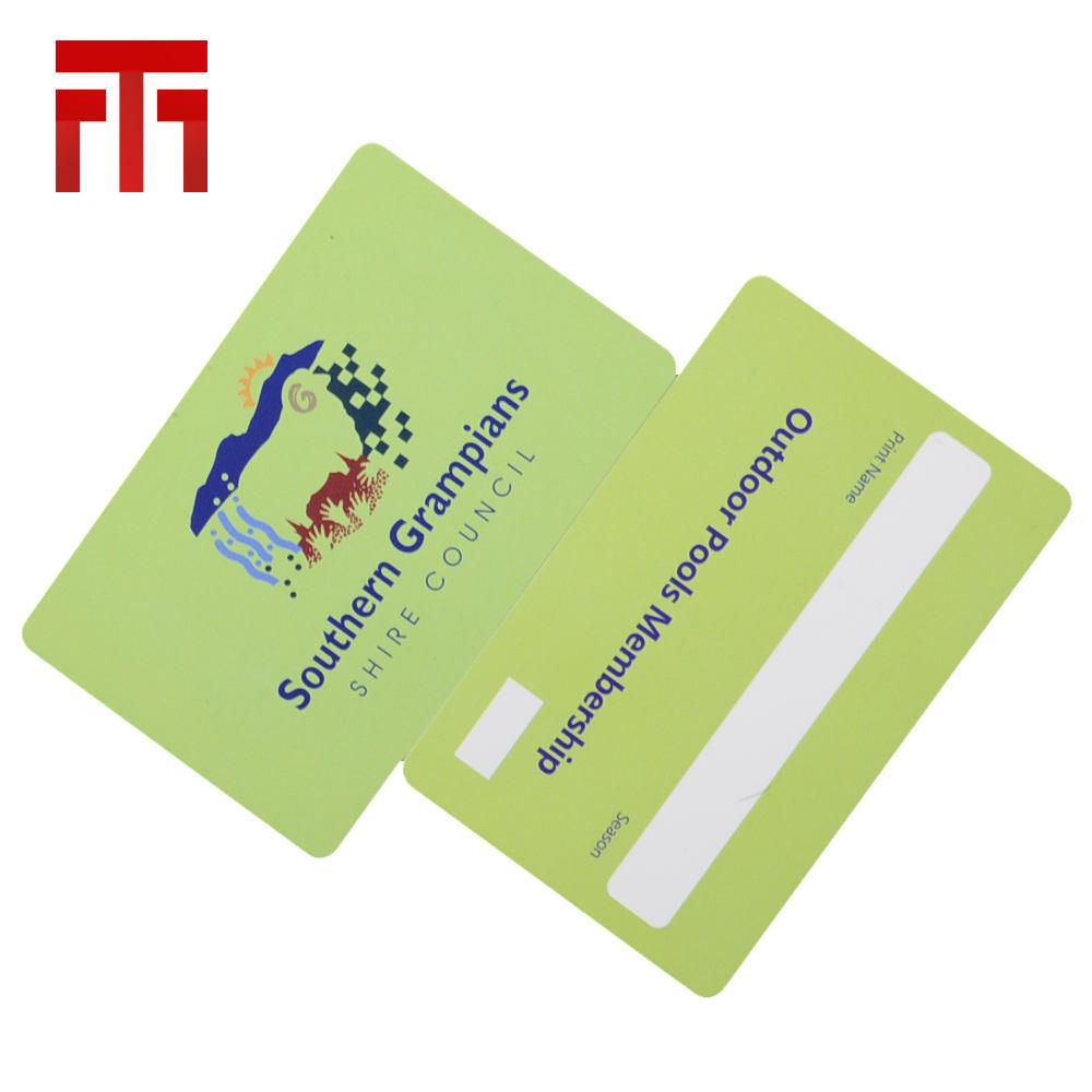 Cr80 Custom Printable Cmyk Polycarbonate Blank Voter Id Card