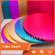 high quality party disposable corrugated paper cake boards