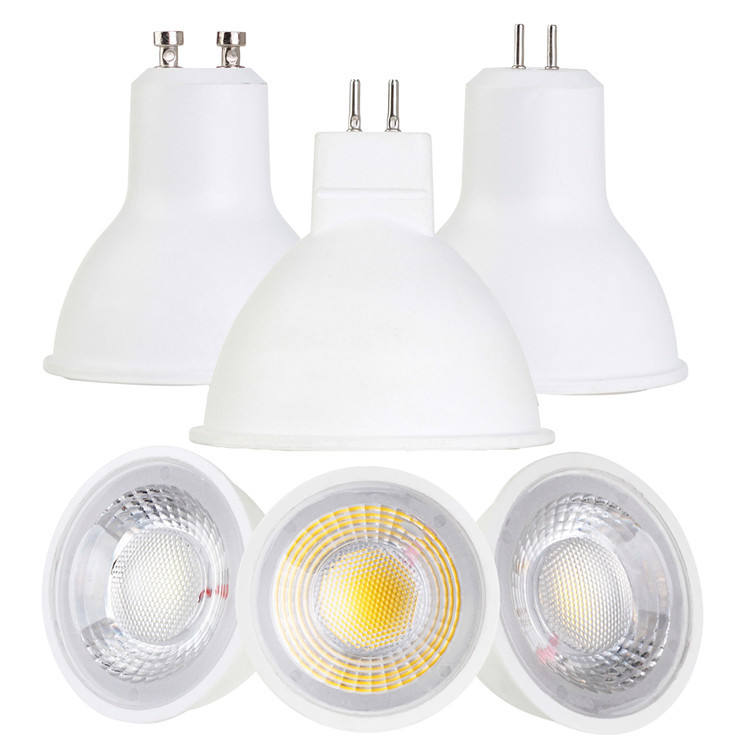Plastik downlight Gu10 Mr16 Gu5.3 Led spot 5W 7W