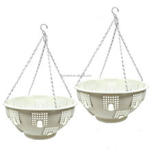 Green Betta basket plastic hanging flower pots