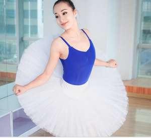 Factory Wholesale Cheap Professional TUTU Skirt White Practice Pancake TUTU